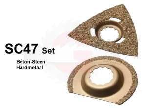 SC47 SET Steen-Beton Hardmetaal