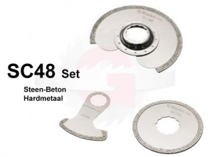 SC48 SET Steen-Beton Diamant