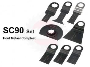 SC90 SET Hout-Metaal Compleet