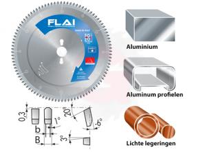 Zaagblad voor aluminium en lichte legeringen