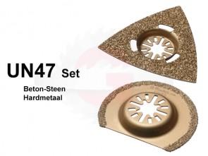UN47 SET Steen-Beton Hardmetaal