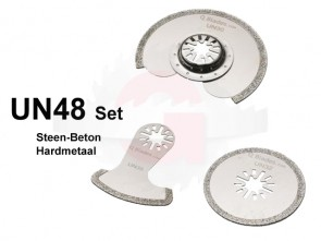 UN48 SET Steen-Beton Diamant