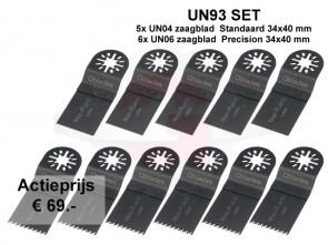 UN93 SET 5x UN04 + 5xUN06 *Actieset 10+1GRATIS