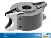 Profielmeskop Ø110x64x Ø30mm, uitvoering staal