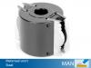 Profielmeskop Ø120x90x Ø30mm, uitvoering staal
